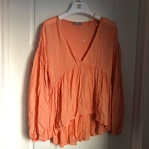 Zara boho blouse medium